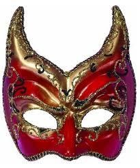 devil venetian masquerade mask men costumes