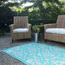 Plastic Outdoor Rugs For Patios Turquoise Plastic Outdoor Rug Patio Rug Indoor Outdoor