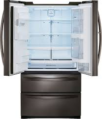 lg lmxs27676d 36 inch 4 door french door refrigerator with door in