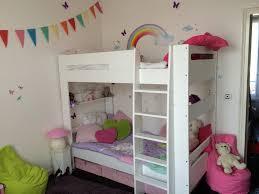 chambre garçon lit superposé et un lit mezzanine et superposé