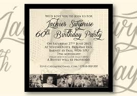 Invitation Cards For 60th Birthday Party Birthdays U0026 Any Occasion Celebration Invitations Design By Caroline