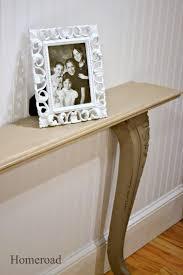 homeroad diy narrow wall or sofa table