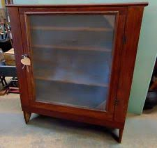 Jelly Cabinet With Glass Doors Antique Pie Safe Ebay
