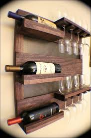 decoration creative furnitures wall mounted wine racks from