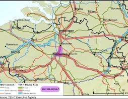 Trains In Europe Map by High Speed Rail Link To Brussels Airport European Commission