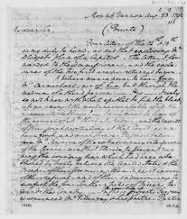 how to write purpose of study in research paper the thomas jefferson papers at the library of congress george washington to thomas jefferson august 23 1792