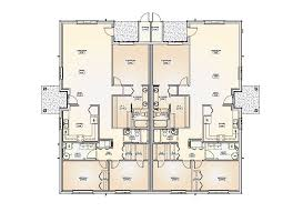 smart placement two storey duplex house plans ideas new at