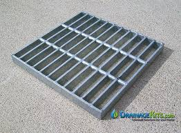 Square Galvanized Steel Catch Basin Grate U2013 4 Sizes U2013 Drainagekits Com