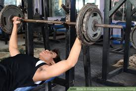 How To Strengthen Your Bench Press How To Breathe Correctly While Bench Pressing 8 Steps Wikihow