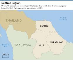 Islamic State Territory Map by Faint Isis Footprint In Thailand U0027s Deep South Asia Times