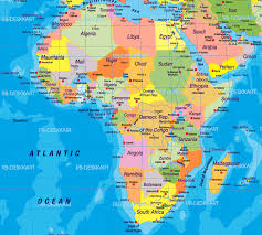 the map of africa africa political map 1 mapsof