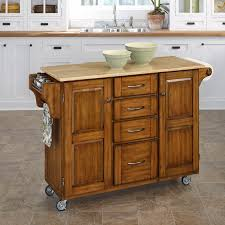 Kitchen Islands With Granite Tops Home Styles Large Kitchen Cart White Black Granite Top