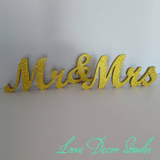 mr and mrs wedding signs gold glitter mr and mrs wedding signs for wedding decoration mr