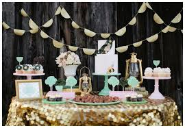 unique wedding party decorations with wedding reception party