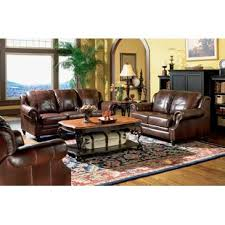 Genuine Leather Living Room Sets Genuine Leather Living Room Sets You Ll Wayfair