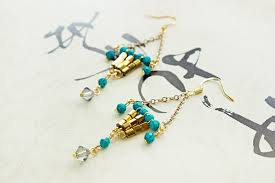Beaded Turquoise Chandelier Beaded Chandelier Earrings Pandahall Beads U0026 Jewelry Blog