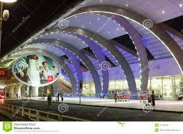 dubai airport entrance editorial photography image 41733292