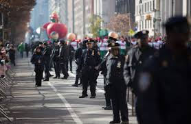 new york bolster security ahead of thanksgiving parade wsj