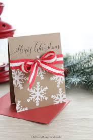 christmas ribbon bows ribbon bow christmas card oh everything handmade