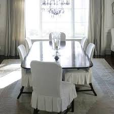 slipcovered dining chair white slipcovered dining chair design ideas