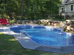 Inground Pool Ideas 17 Best Semi Inground Pools Images On Pinterest Backyard Ideas