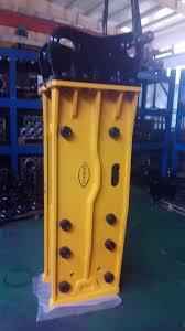 sb81 box silent hydraulic hammer for 20ton 25ton excavator rock