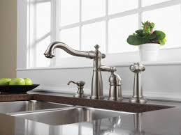 Delta Kitchen Faucets Warranty by Faucet Com 155 Ss Dst In Brilliance Stainless By Delta