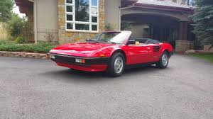 ferrari coupe convertible 1984 ferrari mondial qv convertible sports car market keith