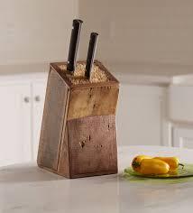 knife blocks reclaimed wood knife blocks available in three sizes vivaterra