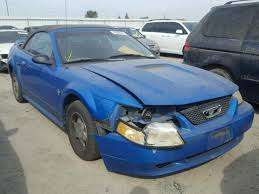 2000 blue mustang 1fafp4447yf105207 2000 blue ford mustang on sale in ca