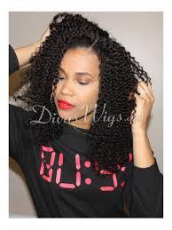stock teyana curly human full wig curly cc008
