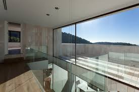 glass wall house monasterios house fabulous ultra modern home with ivory color