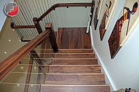 denver walnut staircase black walnut x staircase glass balustrade