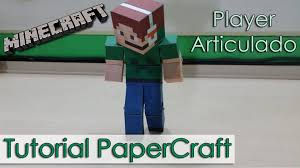 papercraft how to print your own minecraft papercraft bendable