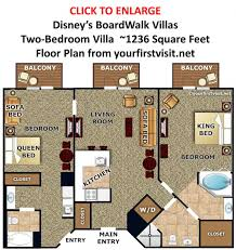 saratoga springs disney floor plan two bedroom villa the villas at