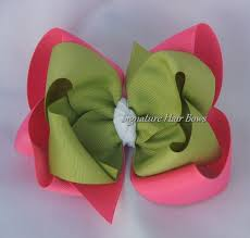 custom hair bows signature hair bows