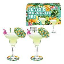 margarita gift set margarita cocktail maker kit gift set 2 glasses 62340 ebay