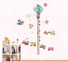popular grow charts for kids buy cheap grow charts for kids lots balloon car grow height chart kids room wall art sticker decal home diy decor decals