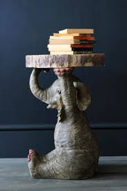 Elephant Side Table Elton The Elephant Side Table Made Of Resin From Rocket Uk