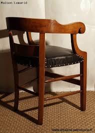bureau à l ancienne ancien fauteuil de bureau fin xixe siècle artisans du patrimoine