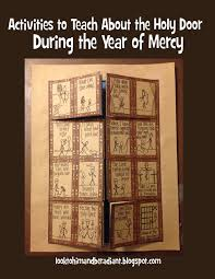 activities to teach about the holy door during the year of mercy