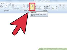 Best Way To Make A Resume In Word by How To Add A Border In Microsoft Word 5 Steps With Pictures