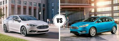 difference between ford fusion se and sel ford focus vs 2017 ford fusion