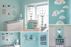 emejing deco chambre bebe bleu turquoise ideas design trends 2017