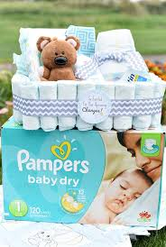 cheap baby shower gifts and creative new baby gift baskets squared