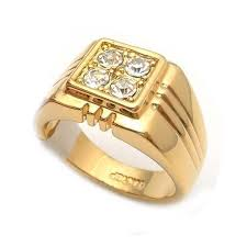 ring gold men gold ring gold rings jewellery india men