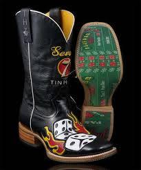 zulily s boots tin haul black lucky 7 craps table boot tin haul cowboy