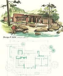 Mid Century Modern House Plan Mcm House Plans Mid Century Modern House Plans Pinterest
