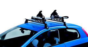 porta snowboard auto accessories merchandising fiat punto