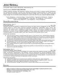 Resume Samples Product Manager by Download Instructional Designer Resume Haadyaooverbayresort Com